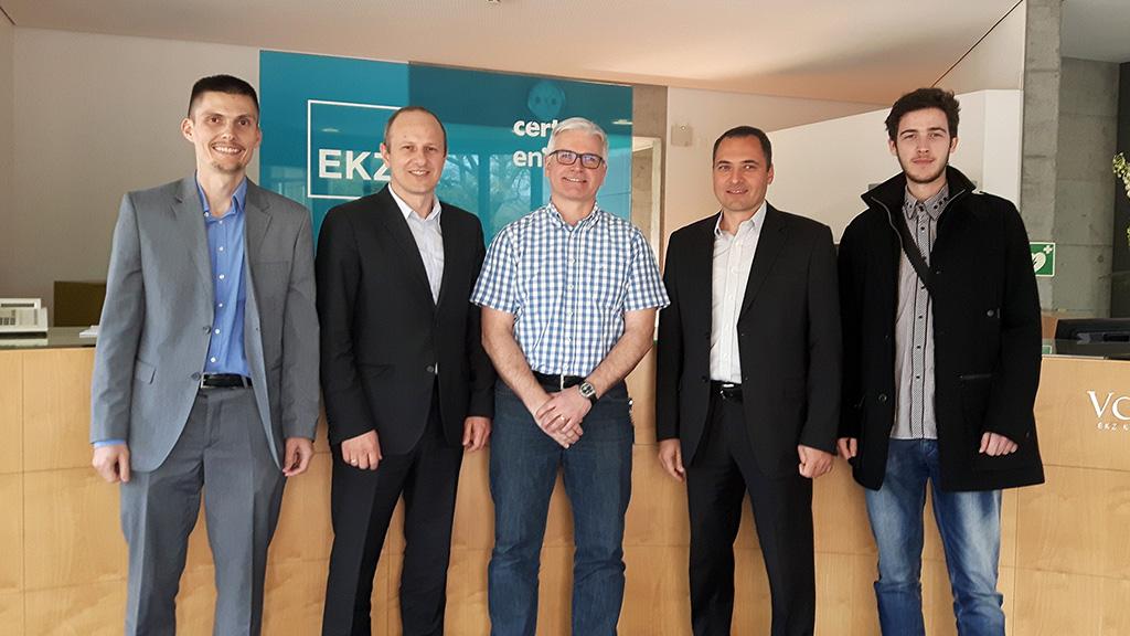 Meter&Control team meets EKZ
