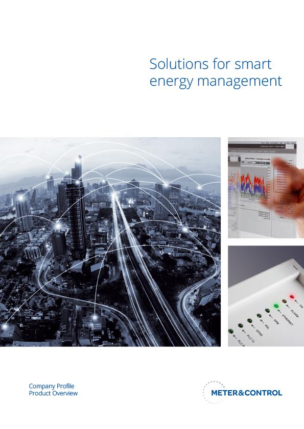 Meter&Control corporate brochure 2019