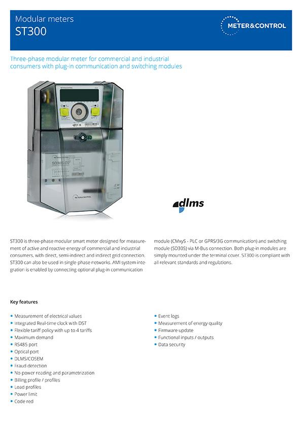 ST300 modular meter